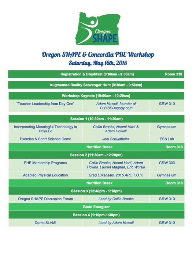 Oregon SHAPE & Concordia PHE Workshop (May 16th) - Google Docs